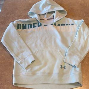 Girls Under Armour hoodie size medium